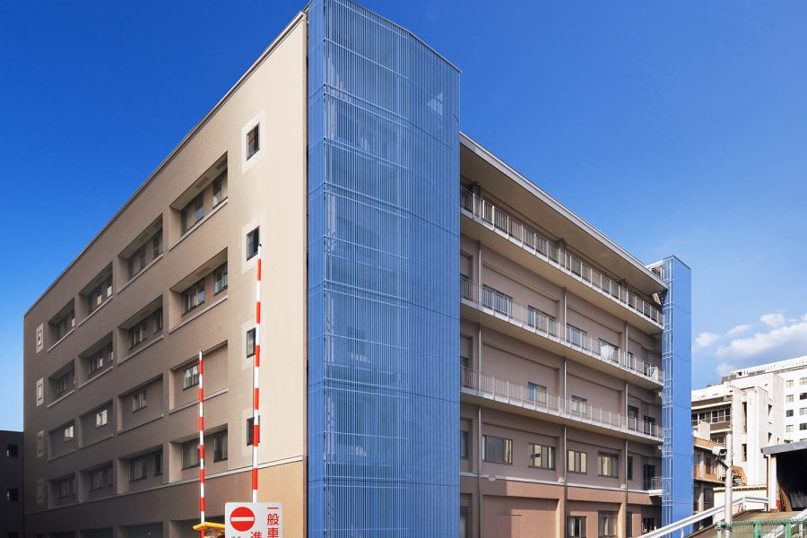 岡山大学中央診療棟(Ⅰ期)
