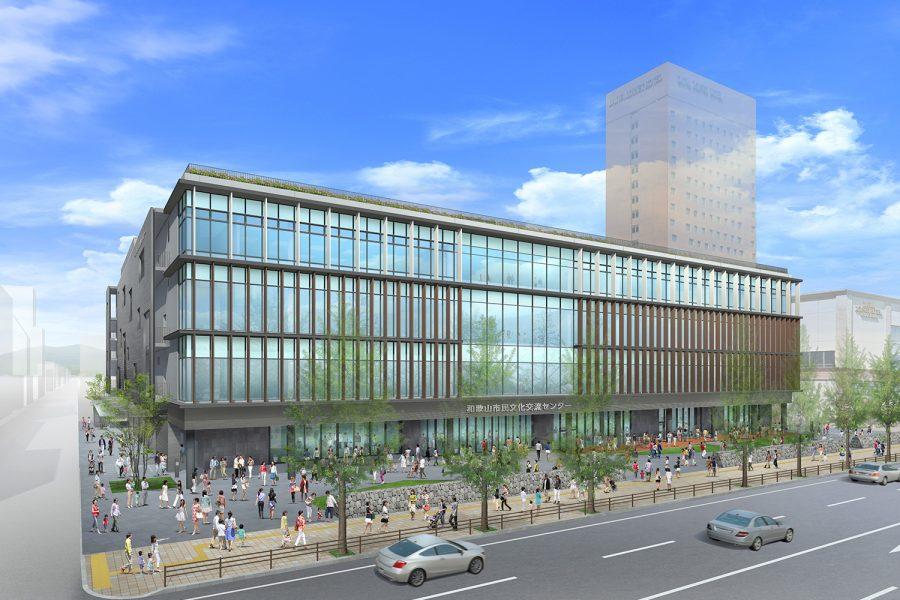 (仮称)市民文化交流センター / 2021年竣工予定