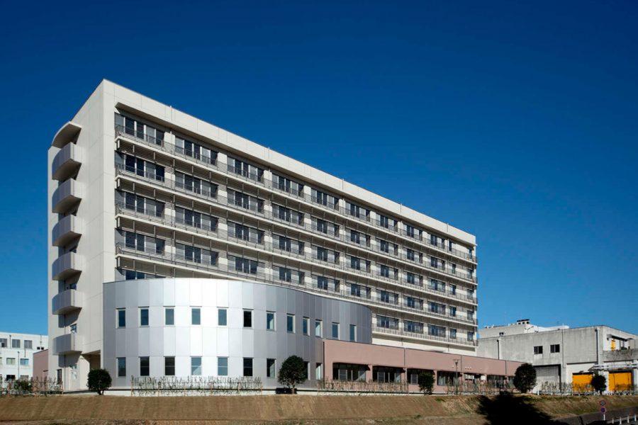 富山大学附属病院病棟