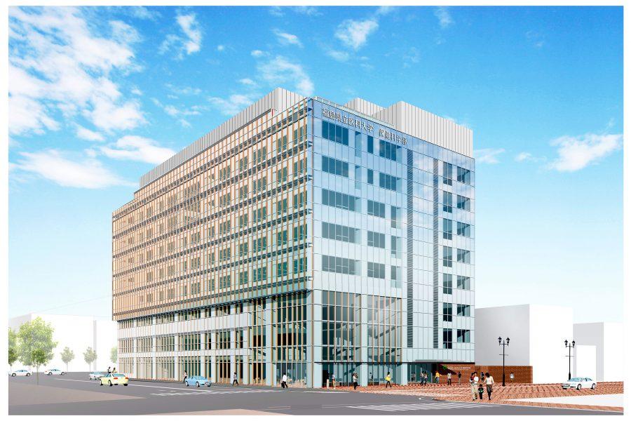 福島県立医科大学保健科学部棟/ 2021年竣工予定