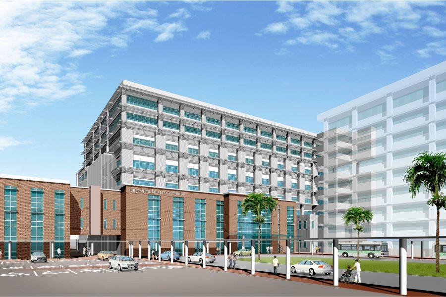 鹿児島大学附属病院外来診療棟・病棟(A棟)/ 2023年竣工予定
