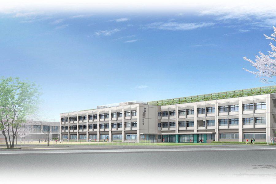 練馬区立石神井小学校 / 2021年竣工予定