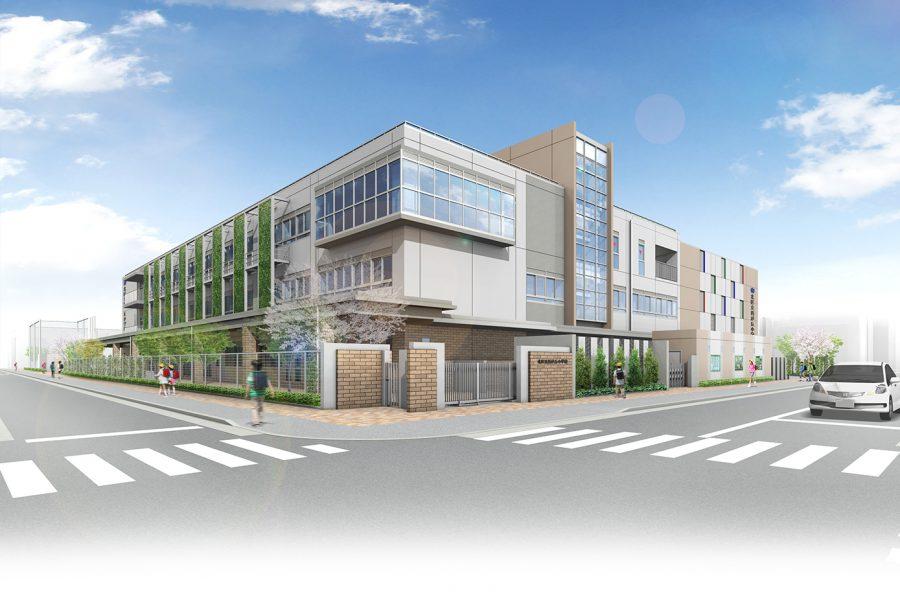 北区立西が丘小学校/2023年竣工予定