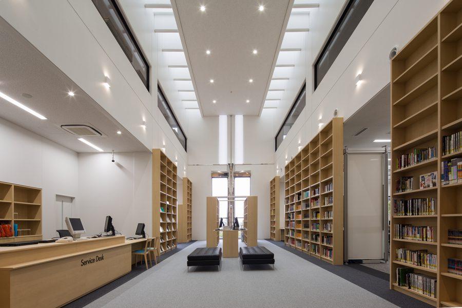 明治学院大学横浜キャンパス図書館